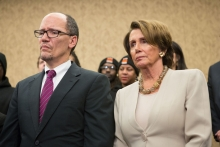 Tom Perez and Nancy Pelosi